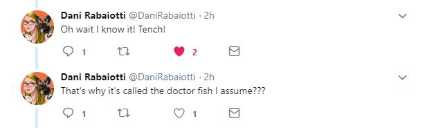 Tweet answer